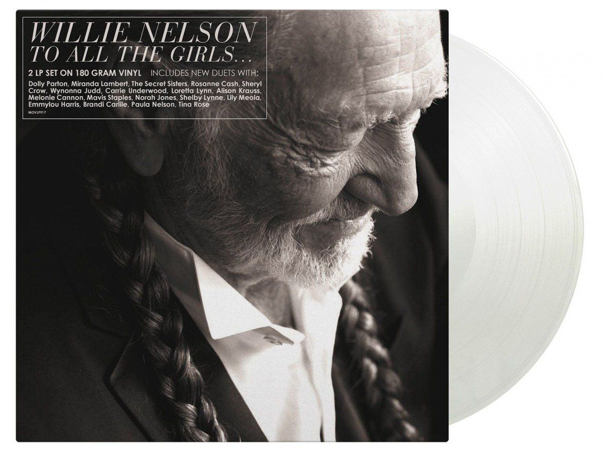 """NUMBERED LIMITED EDITION The album consists of only duets, and as the title suggests, all songs are performed with female artists. Some of his duet partners include Dolly Parton, with whom he sang the lead single """"From Here to the Moon and Back"""", as well as Miranda Lambert, Rosanne Cash, Carrie Underwood, Loretta Lynn, Mavis Staples, Norah Jones and Emmylou Harris. From Here To The Moon And Back She Was No Good For Me It Won't Be Very Long Please Don't Tell Me How The Story Ends Far Away Places"""