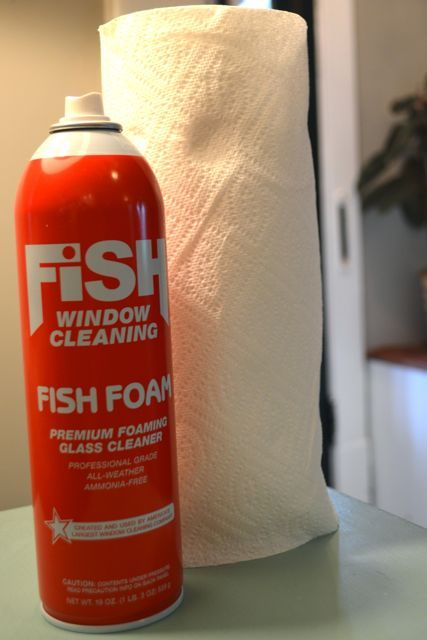My Windows Met Their Match Newlywoodwards Glass Cleaner Cleaning Fish Window Cleaner