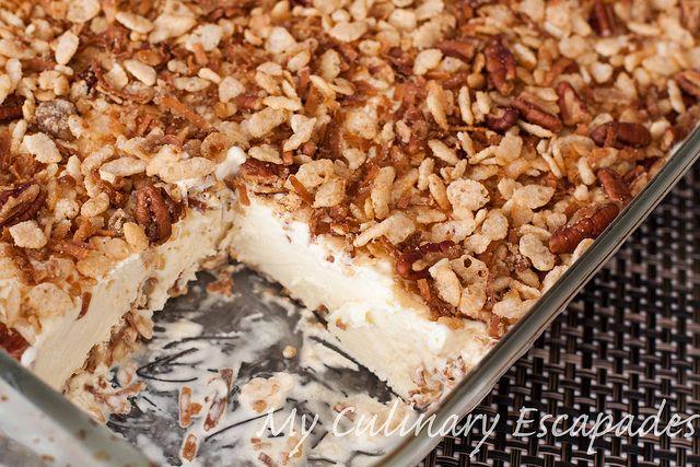 Rice Cereal Ice Cream Dessert (With images) | Ice cream ...