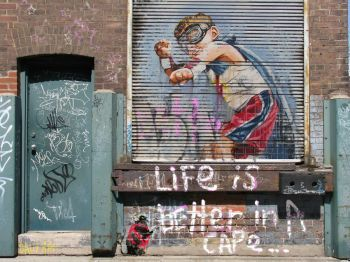 Life Is Better In A cape by andy baker Artist: baker andy Artwork title: life is better in a cape