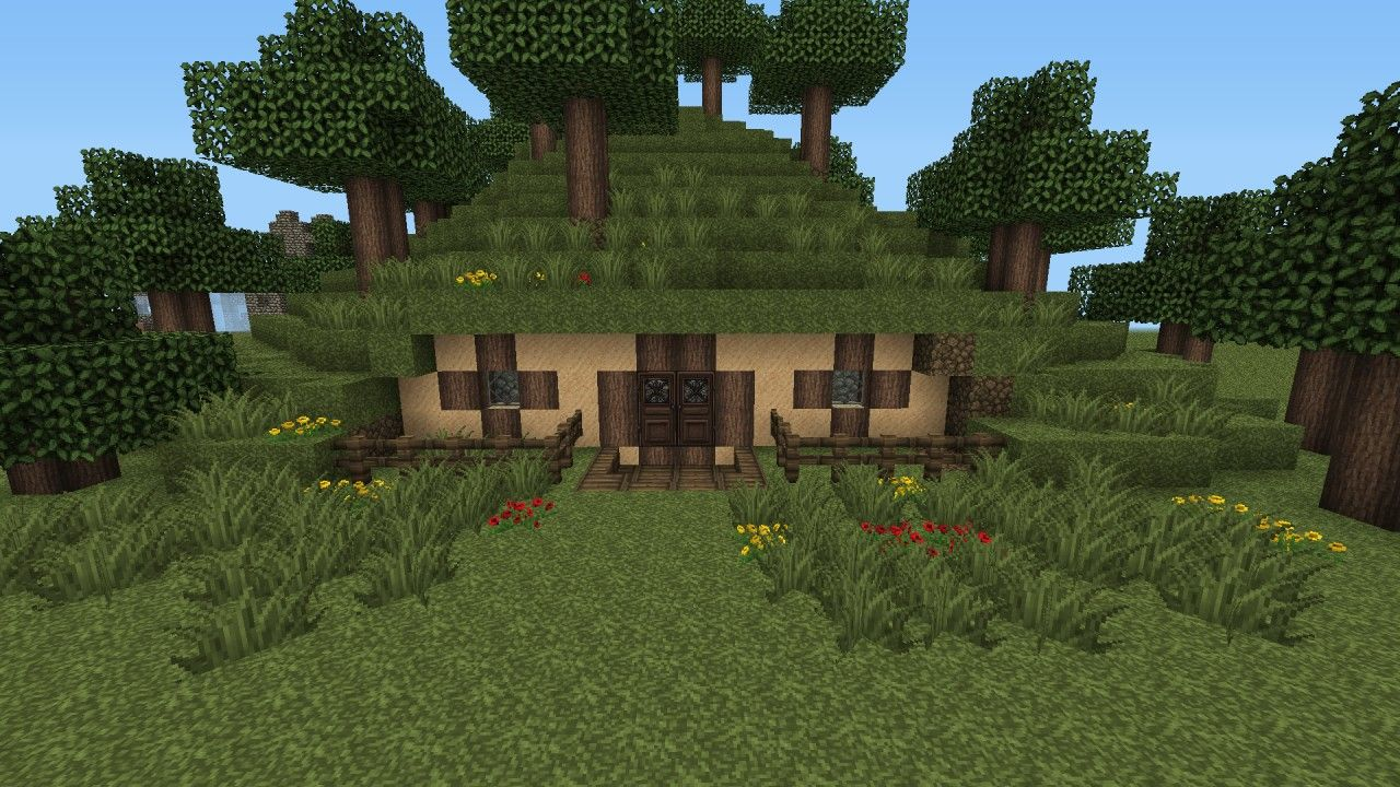Lotr Hobbit House Tutorial Minecraft Project Geek Idées