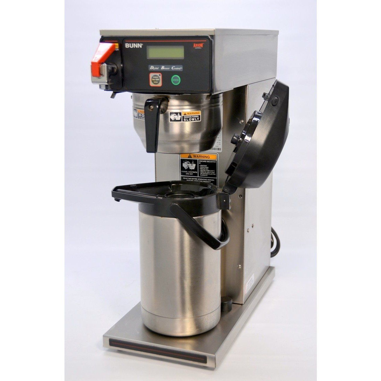 Bunn Axiom DVAPS Airpot Coffee Brewer Commercial Plumbed