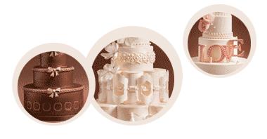 Extraordinary Custom Wedding Cakes by Marina Sousa