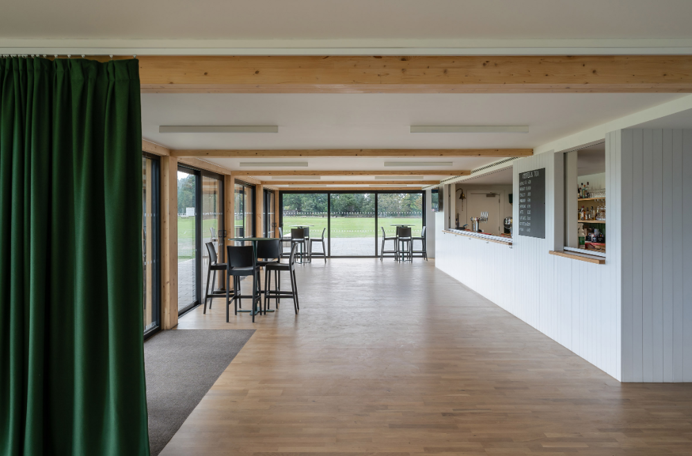 """Reed Watts creates """"discrete but identifiable"""" cricket pavilion in Richmond upon Thames"""