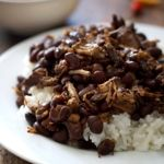 Crockpot Pork Adobo with Black Beans