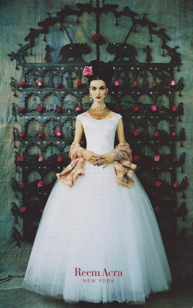 su inspiracion es frida blog.: frida kahlo y reem acra, rose garden