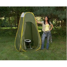Camping Travel Toilet and Privacy Popup Complete Package