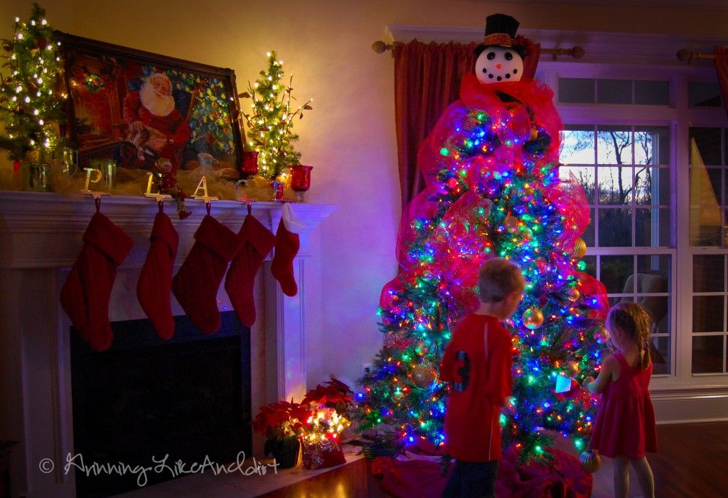Snowman Christmas Tree!