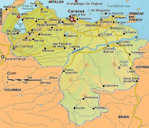 Maps of Venezuela Whispering WidowVenezuela Pinterest