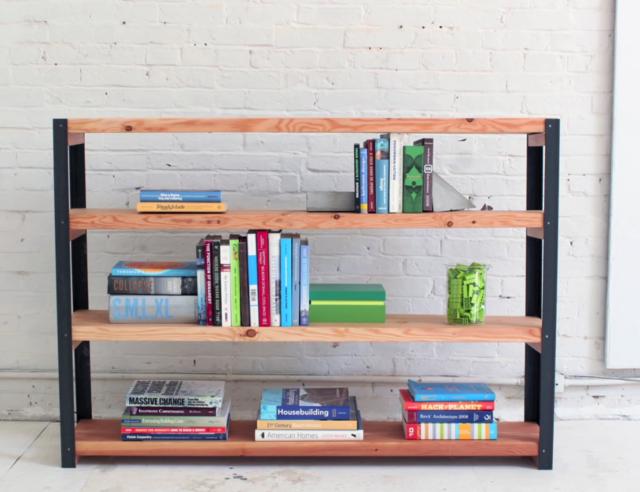 Goede Industriele boekenkast maken? Stap voor stap uitgelegd LR-96