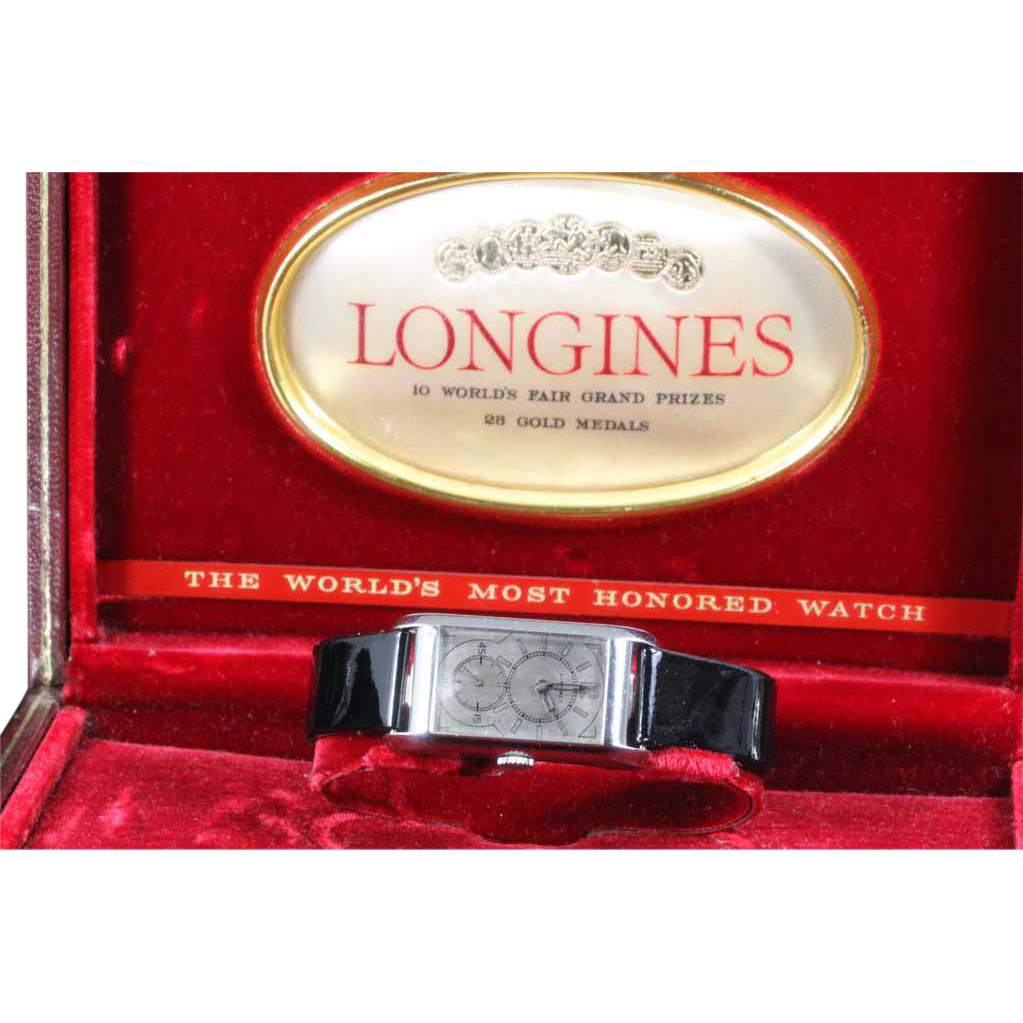 "Longines Doctors Watch ""Duo Dial""  1934"
