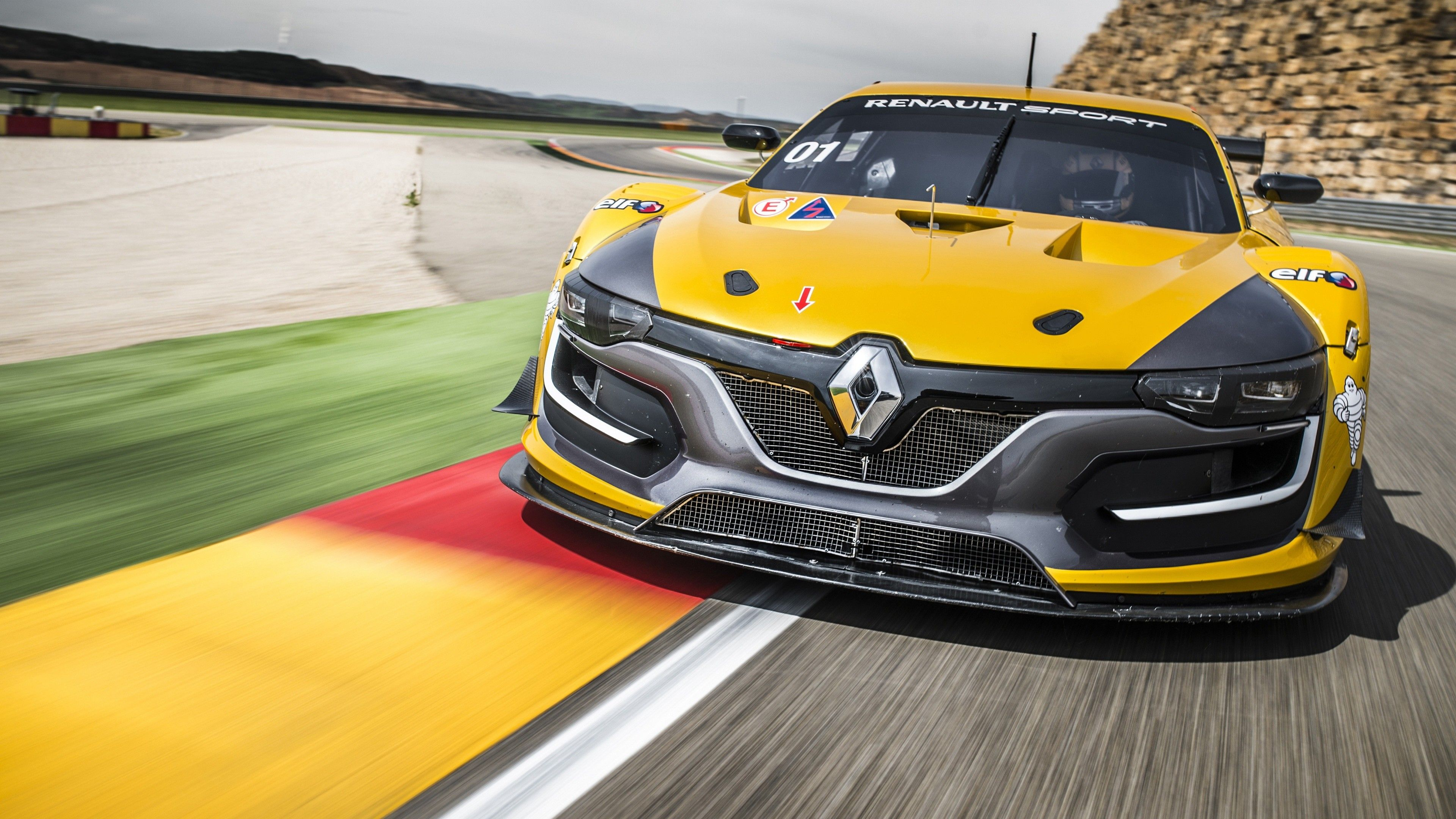 3840x2160 Renault Sport Rs Racing Car Car Wallpapers Street Racing Cars Renault