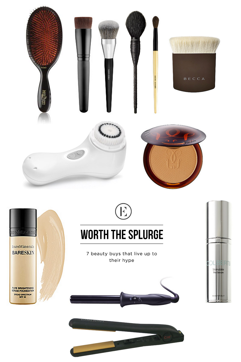 What makeup is worth splurging for