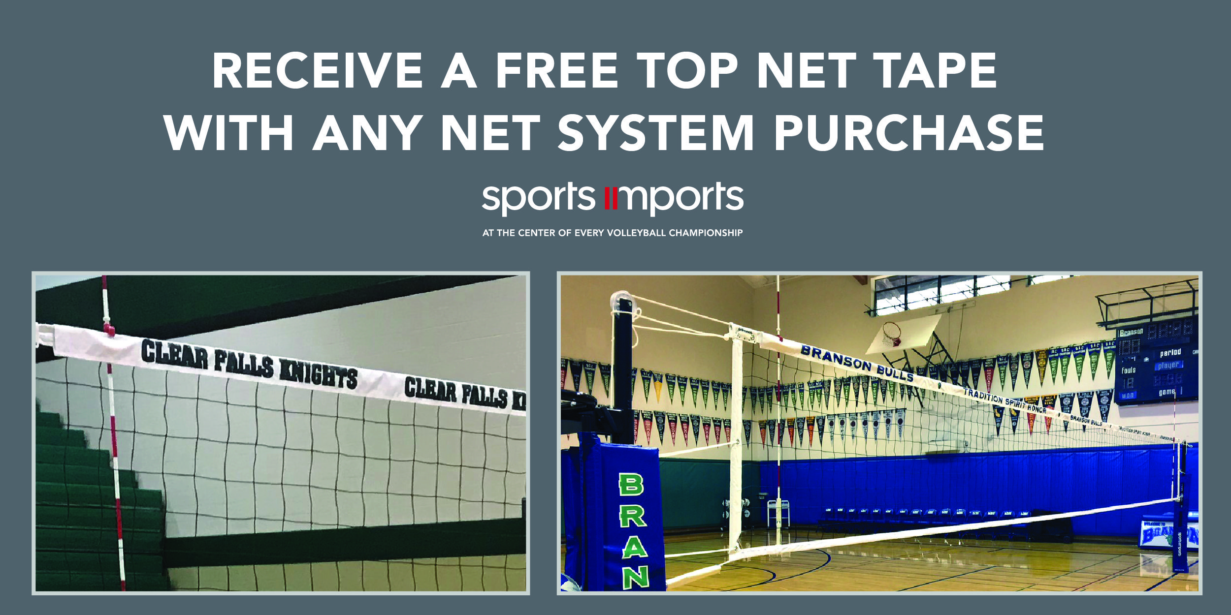 Now Through August 2020 We Are Offering A Free Custom Tnt With Any Beach Or Indoor Volleyball Net System In 2020 Indoor Volleyball Volleyball Net Volleyball Equipment