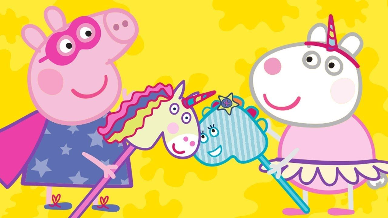 Peppa Pig English Episodes Peppa Pig Wallpaper Peppa Pig Pig