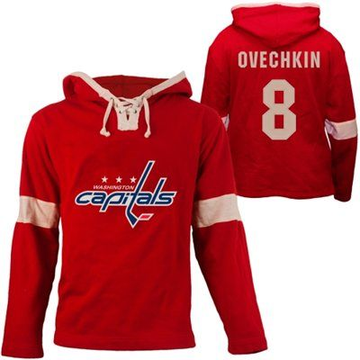 hot sale online 274a4 5a112 Old Time Hockey Alex Ovechkin Washington Capitals Grant Lace ...