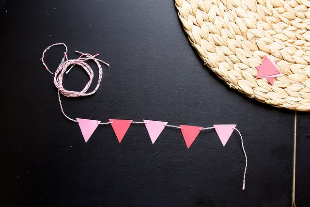A TINY BANNER FOR A CAKE!