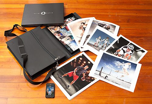 Clint Davis 2010 printed photography portfolio prat fastportfolio 11x14