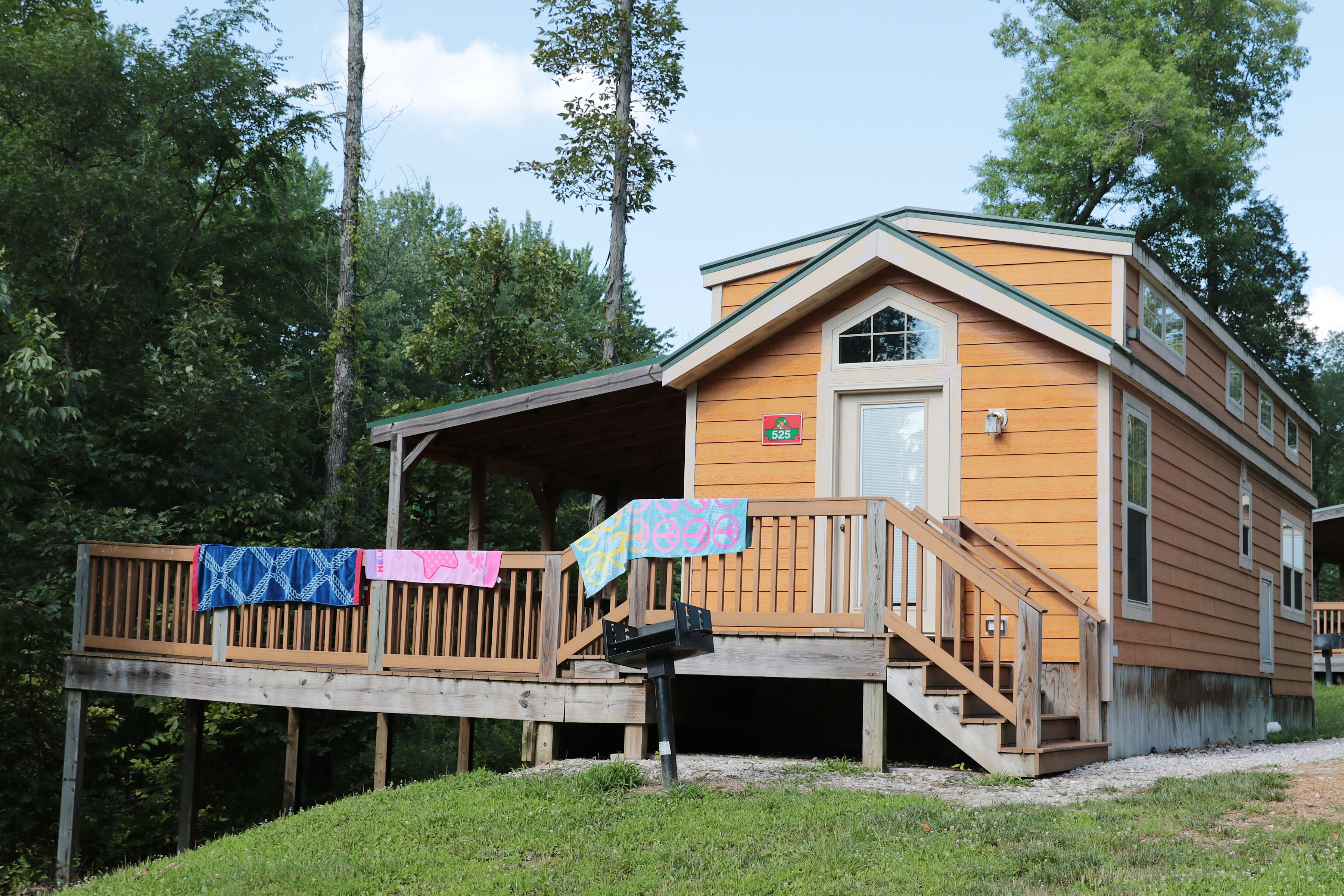 Lake Rudolph Campground Rv Resort In Santa Claus Indiana State Park Cabins Family Friendly Vacation Holiday World