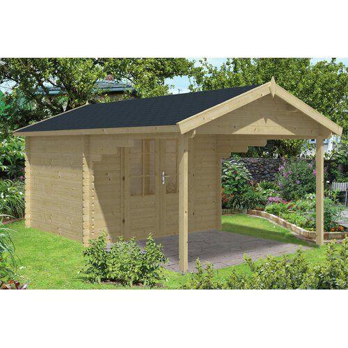 300 cm x 520 cm Gartenhaus Trever Garten Living Dach