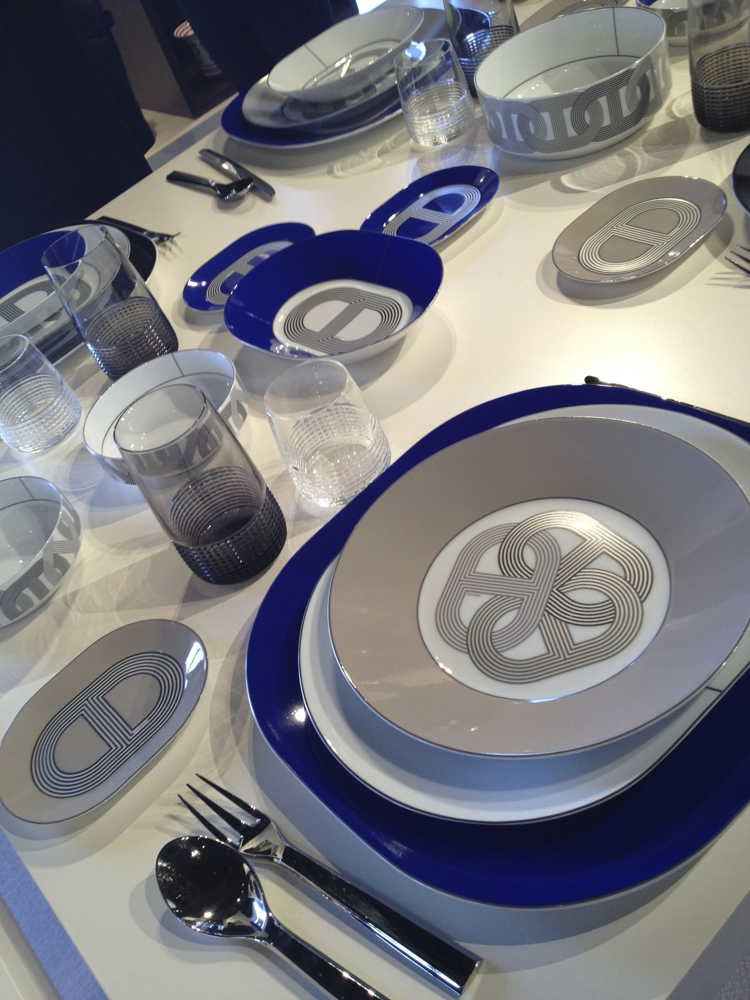 The New Hermés Tableware Collection  Tableware design, Luxury