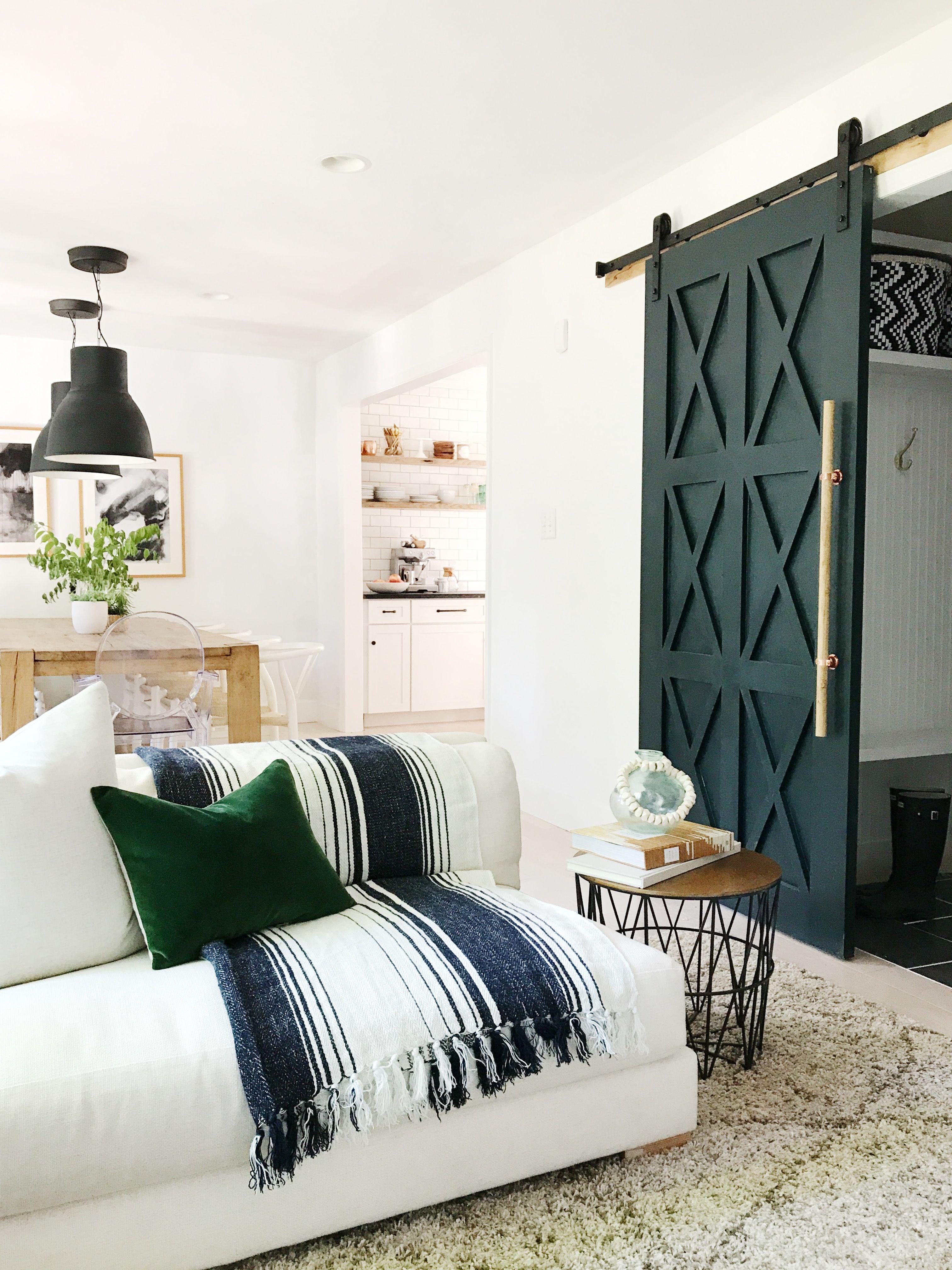 DIY HOME   Barn Door -HOUSE SEVEN design + build   Interior Barn ...