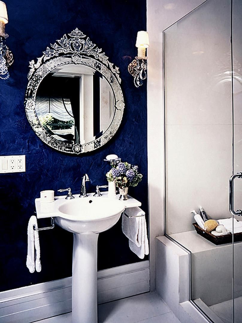 23 Amazing Purple Bathroom Ideas Photos Inspirations: 23 Amazing Royal Blue Bathroom Sets