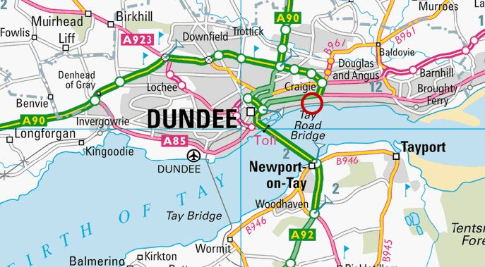 dundee map Google Search Maps of Dundee Pinterest Dundee