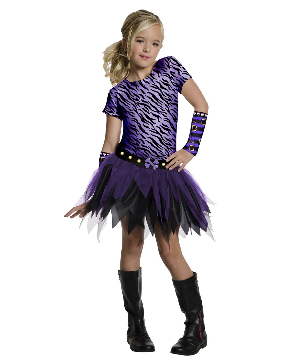 monster high costumes monster high clawdeen arm warmers - Clawdeen Wolf Halloween Costume