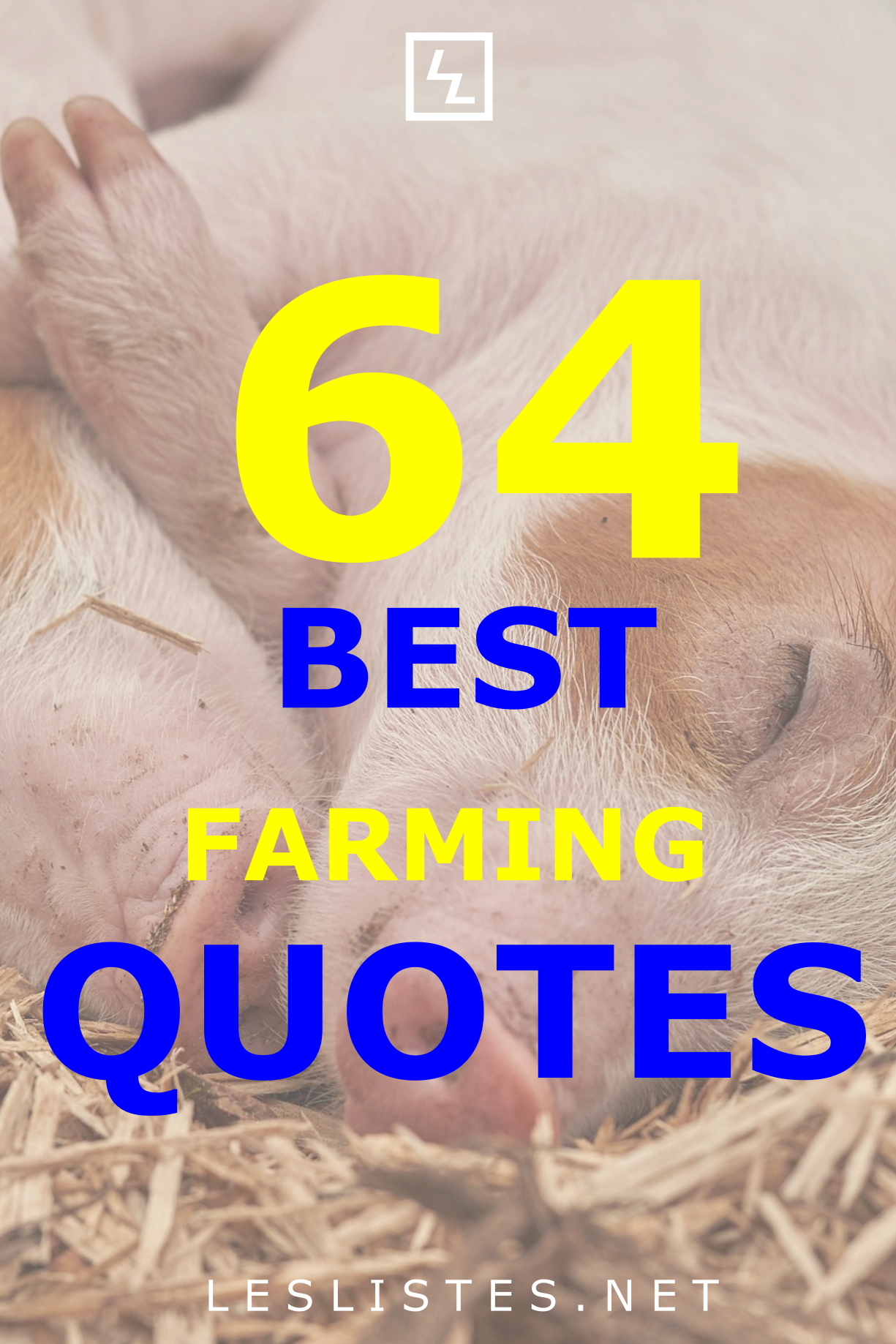 Farming is one of the most important jobs in the world