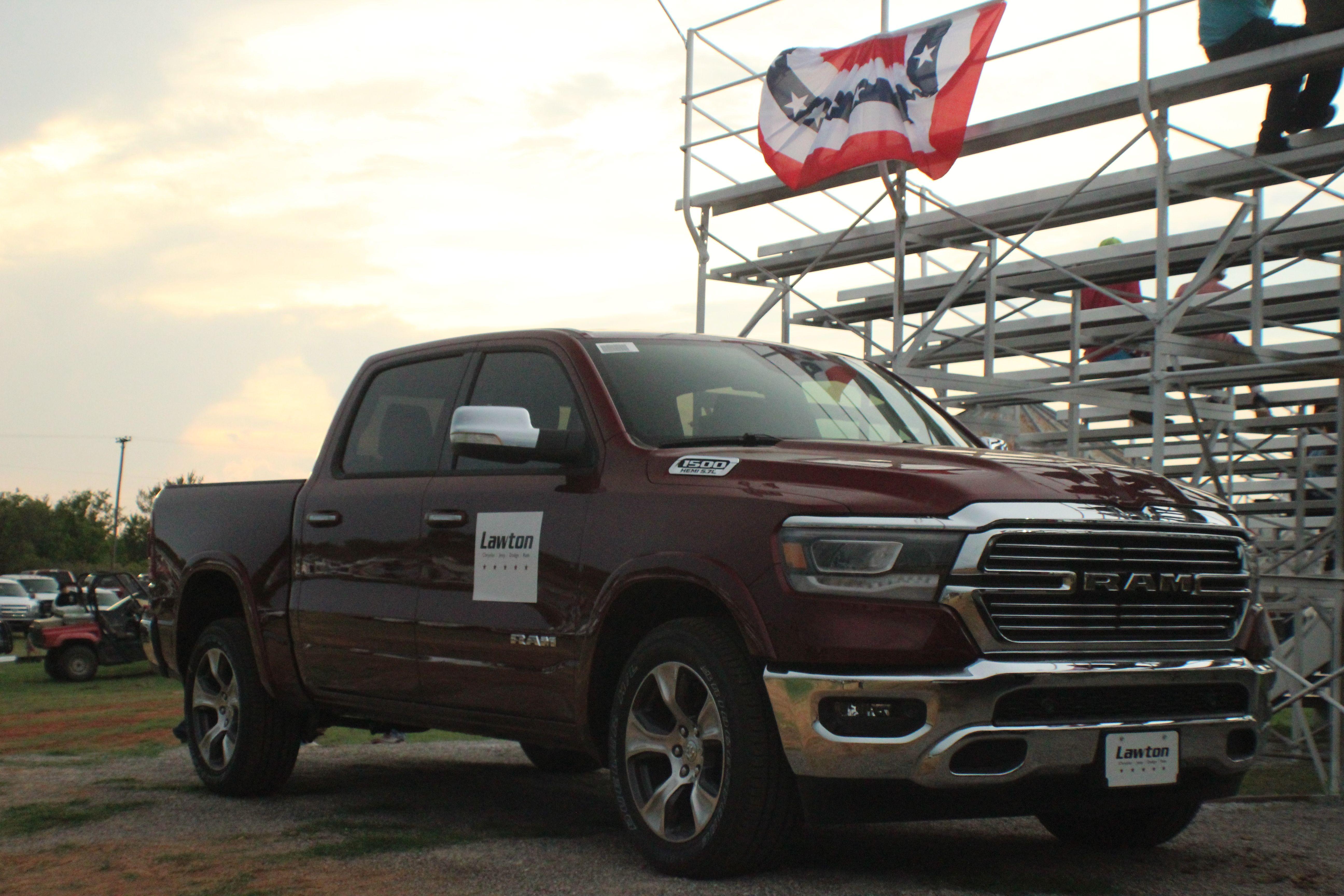Lawton Chrysler Jeep Dodge Ram Sponsored The Elgin Rodeo In Elgin