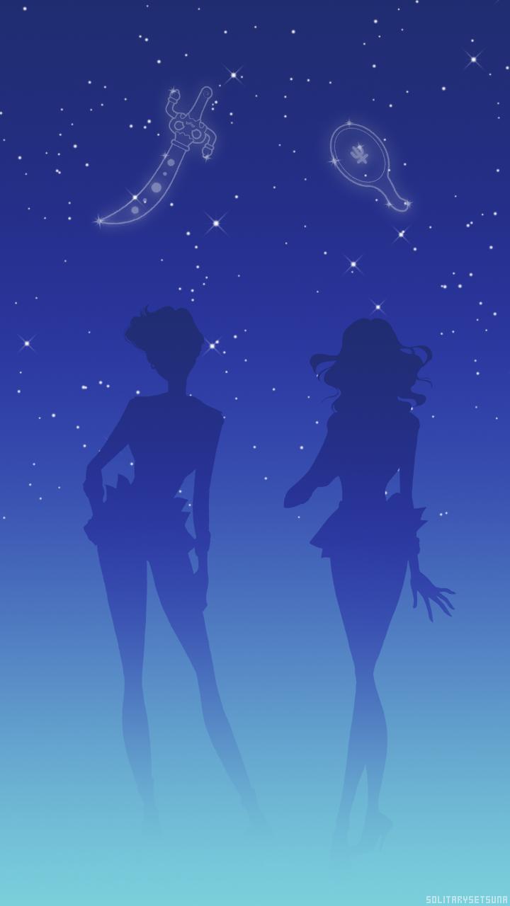 Uranus Neptune Lockscreen セーラームーン 美少女戦士