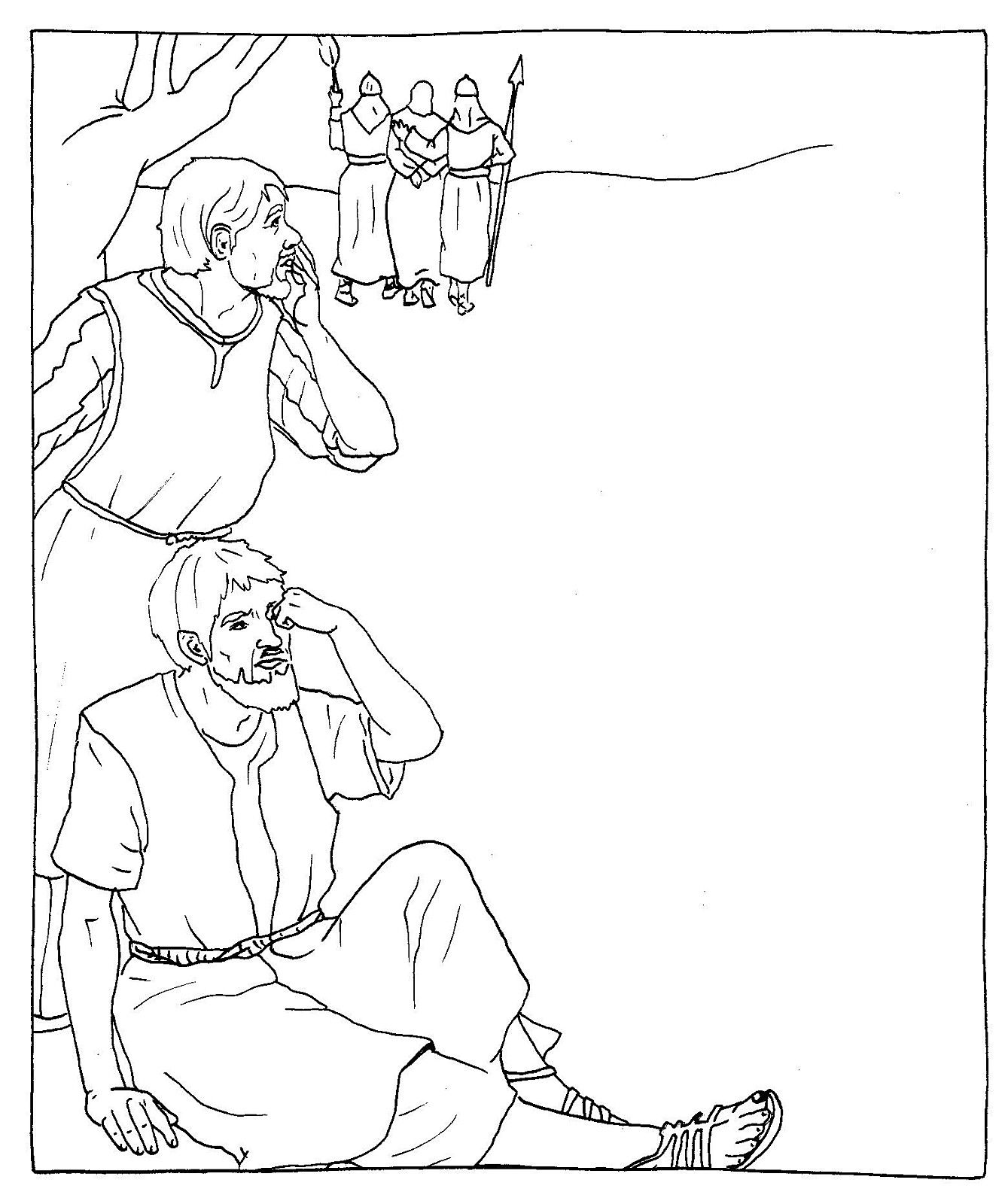 Good Friday Coloring Pages Coloring sheets for easter