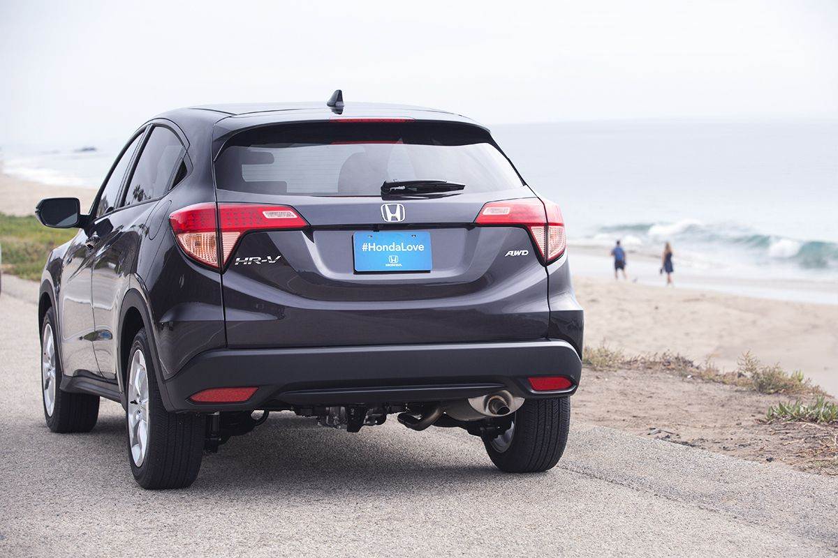 The allnew Honda HRV Crossover couldn't leave LA without