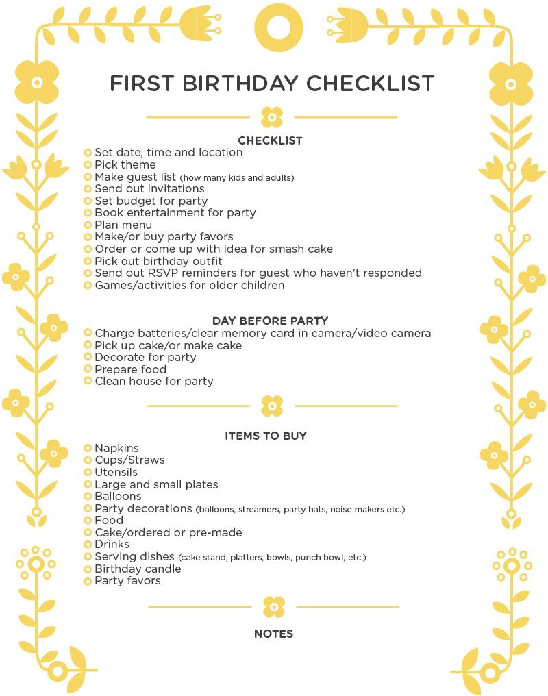Party checklist party 2014 pinterest birthdays for Party planning ideas for adults birthday