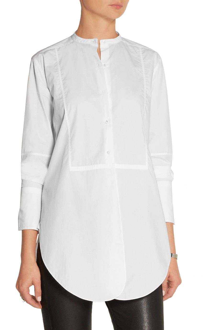 Oversized cotton poplin shirt | Helmut Lang | UK | THE