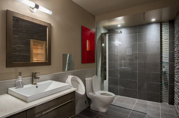 20 Cool Basement Bathroom Ideas Home Design Lover Basement Bathroom Design Basement Bathroom Remodeling Small Basement Bathroom