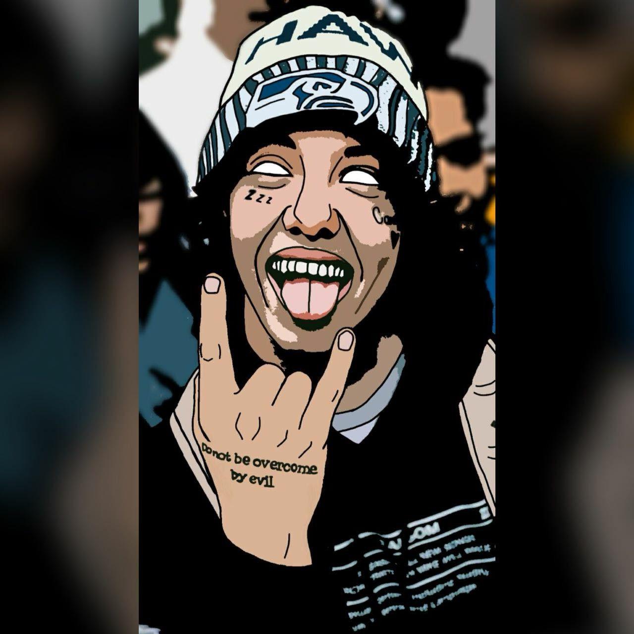 Lil Xan Rapper Art Art Drawings