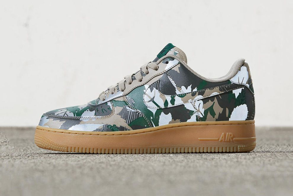 nike air force 1 low reflective green camo nz