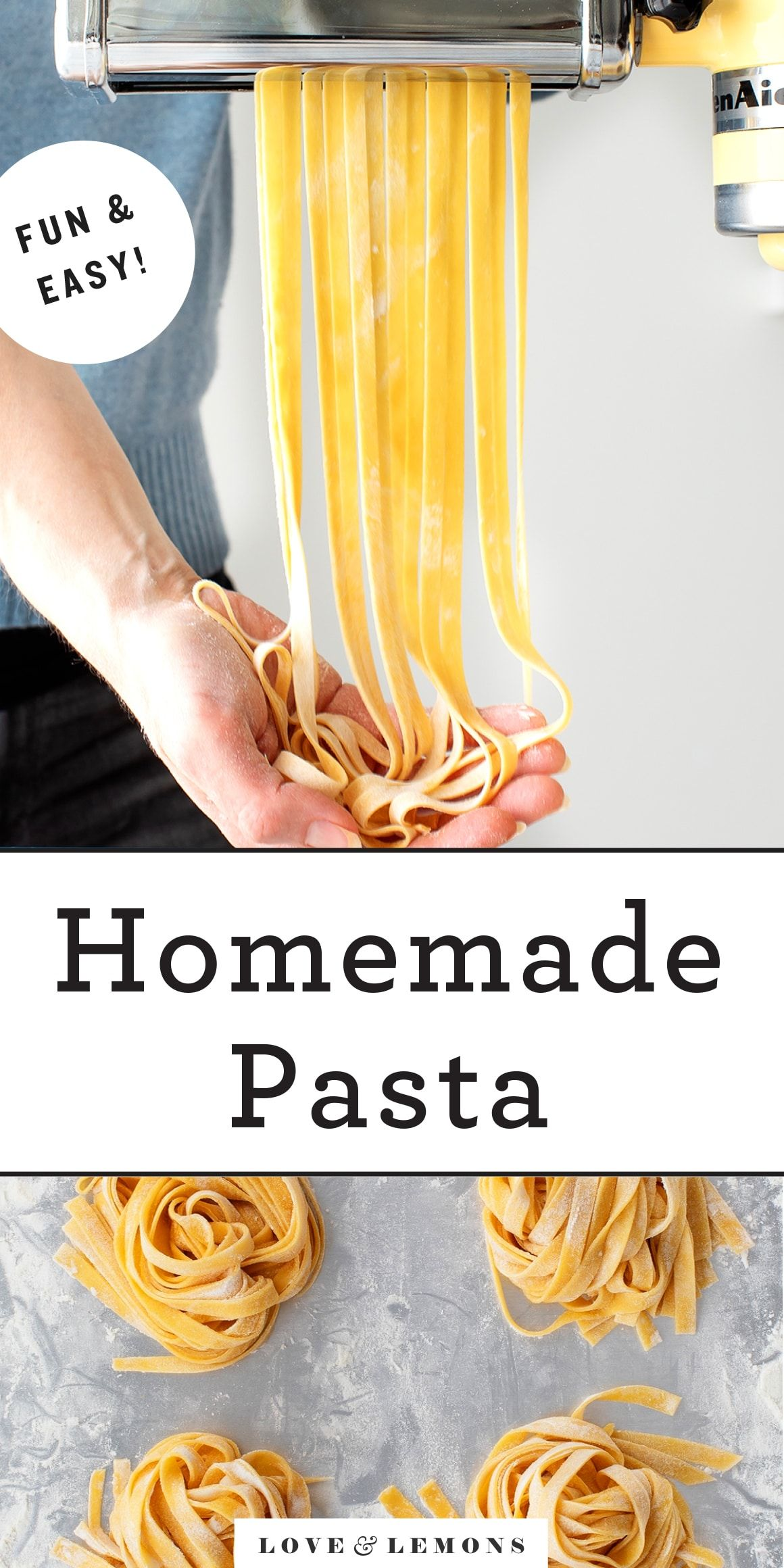 Homemade Pasta - Recipes by Love and Lemons