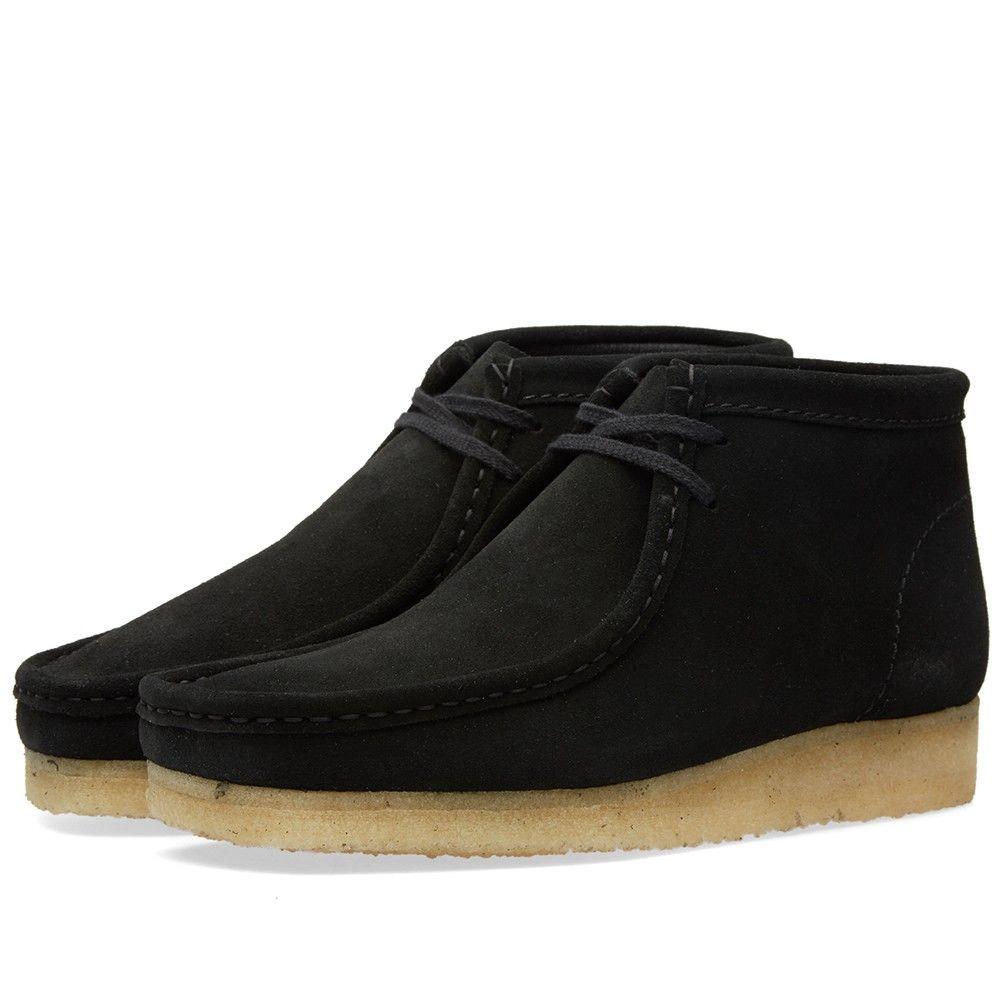 Clarks Originals Wallabee Boot | Black