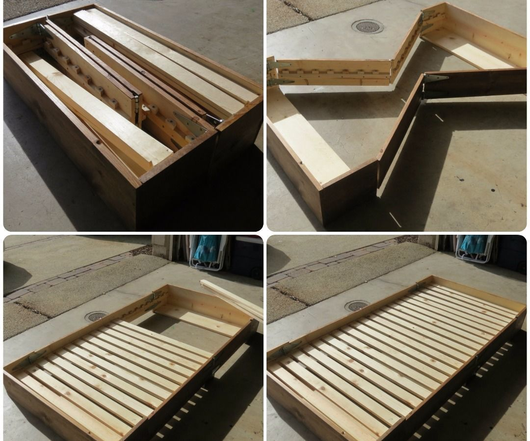 - Bed In A Box Box Bed, Diy Bed, Diy Wood Projects