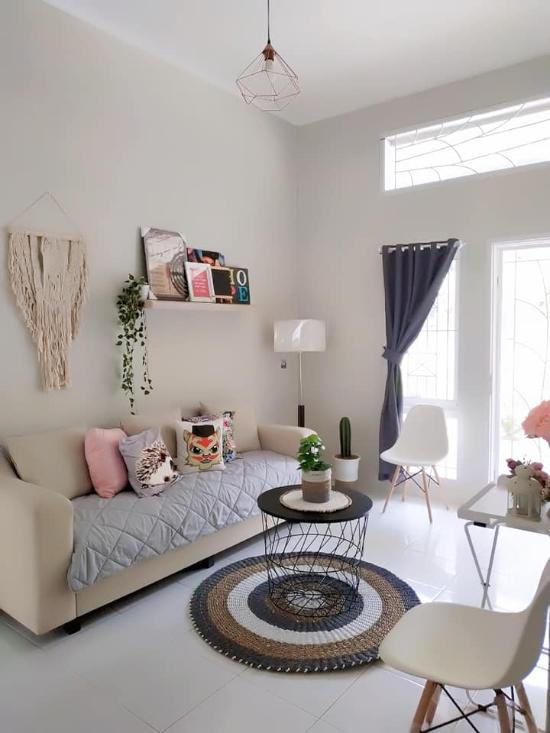 Ide desain interior rumah minimalis type 36/90 dengan ...