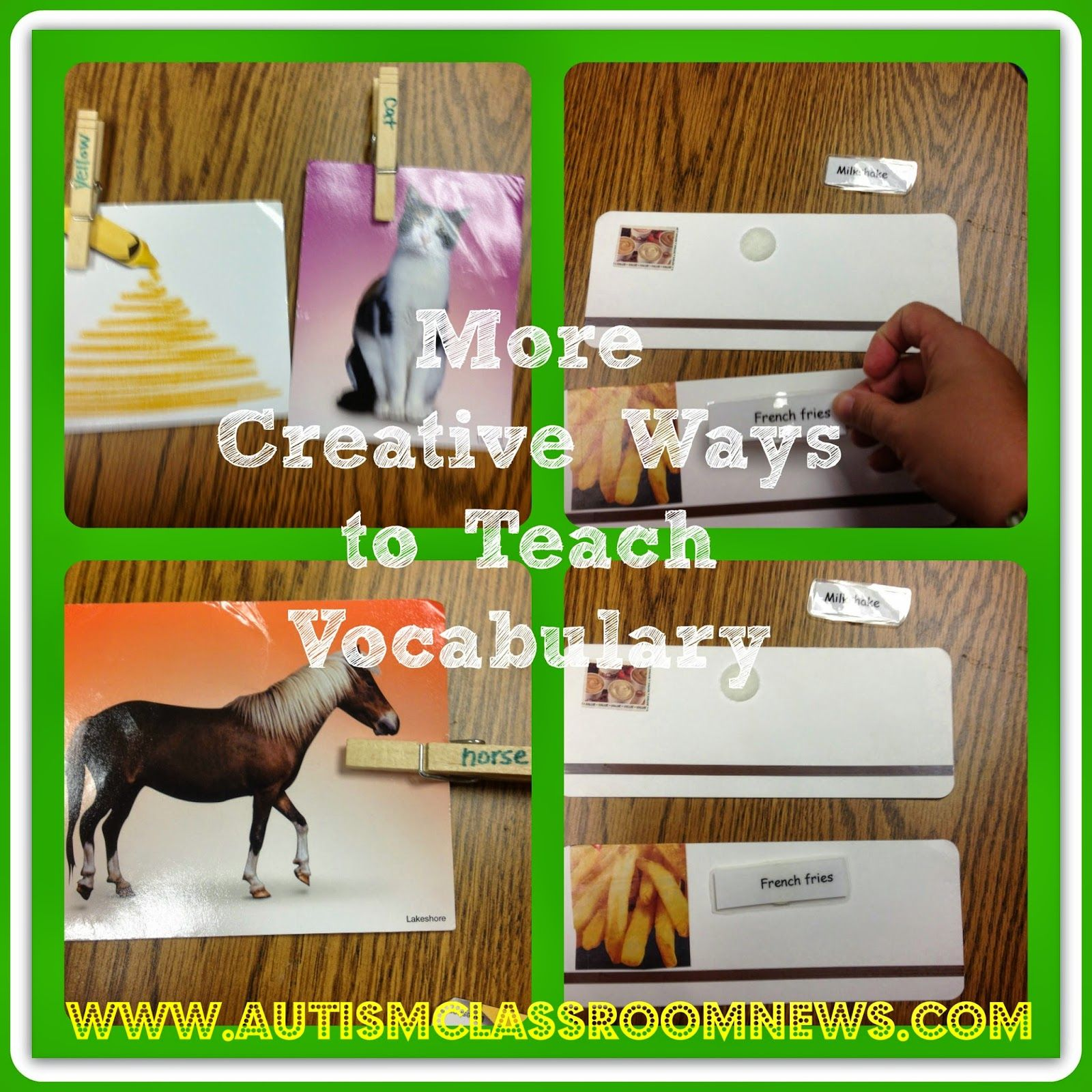 More Ideas For Teaching Expressive And Receptive