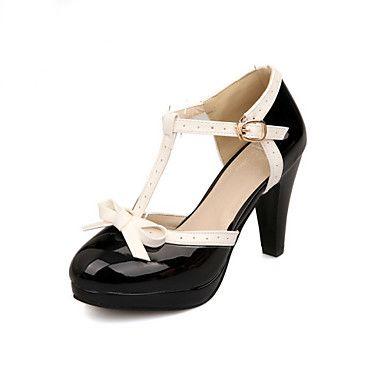 Womens Shoes Cone Heel Comfort Round Toe Pumps Heels Outdoor Office   Career