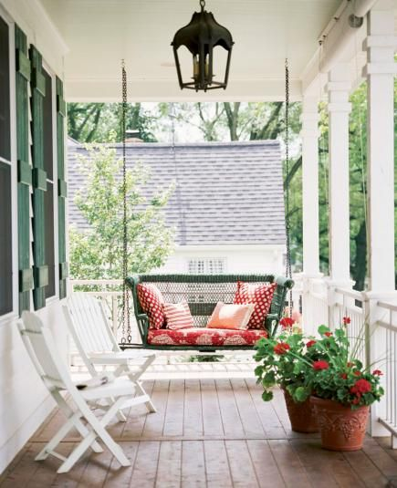 40 Ideas For Warm And Welcoming Porches