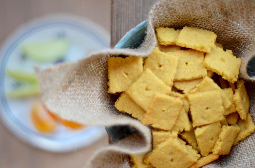 Cheezits made vegan glutenfree healthy gluten free