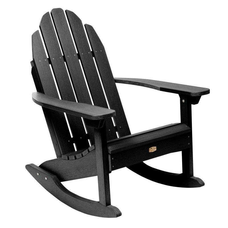 Elk Outdoors Essential Adirondack Outdoor Plastic Rocking Chair