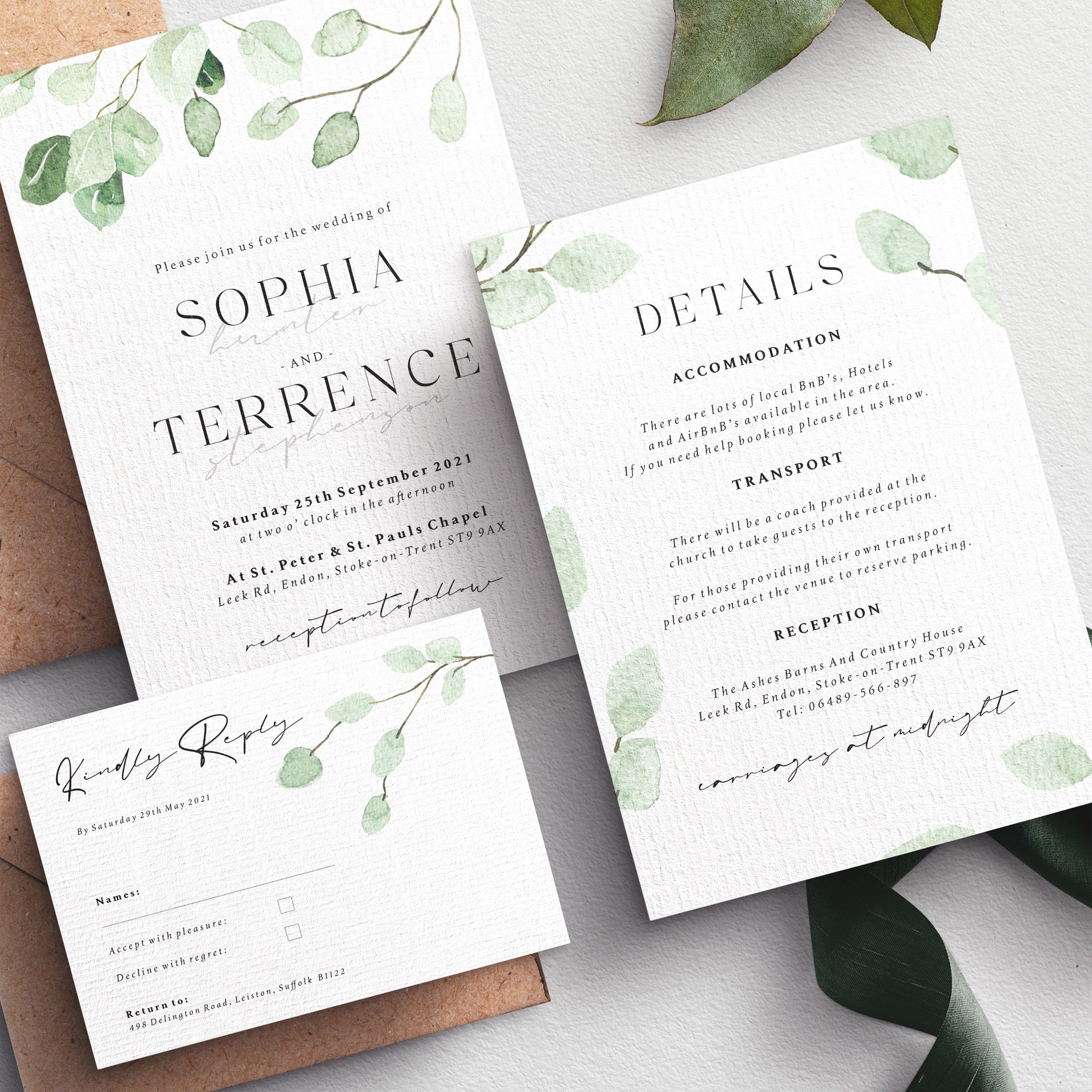 Marsala Floral Wedding Invitation Set For Bohemian Wedding Etsy Floral Wedding Invitations Wedding Invitation Sets Wedding Invitations Diy