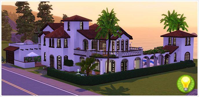 Villa grundriss sims 3  Electronic Arts - The Sims 3: Villa Paraíso #Sims3 | Sims 4 World ...